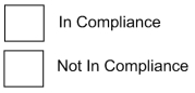 SAP Evaluation Compliance